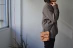 siwa leather pochette(black)