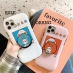 【オーダー商品】グリップ付き  Duck bracket iphone case