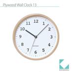 KATOMOKU plywood wall clock 13 km-84N
