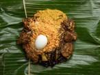〈2個セット〉ランプライス チキン【バナナ葉で包んだスリランカカレー】