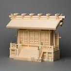 横通三社宮 廻縁屋根 1尺8寸 唐戸