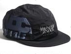 【Hunger Knock】 LOGO JET CAP bk(Black)