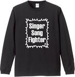 Singer Song Fighter ロングスリーブTシャツ