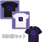 「Amethyst」Tシャツ3枚セット