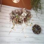 スモークツリーのふわもこシャンデリア