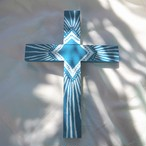Wood Cross《BLUE》