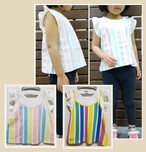 ストライプTシャツ 50202