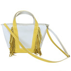 SideFringeToteBag small/yellow