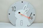 うさぎの時計(ラウンド)タイプフェイス