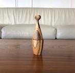 つみこけし 小田原寄木仕上げ 寺内定夫デザインの原点です。