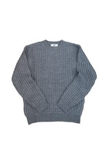 WOOL THERMAL KNIT (BIG WAFFLE)  GRAY