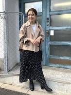 【送料無料】nagisaさんセレクト キャンディスリーブショートトレンチコート