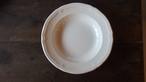 ヴィンテージ イタリア製 スープ皿 花形リム