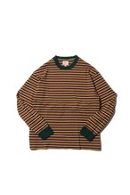 Original Multiborder Long Sleeve-T  / brown