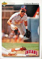 MLBカード 92UPPERDECK Carlos Baerga #231 INDIANS