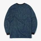 [D-28]「CCN」ロゴ ロングTシャツ ネイビー