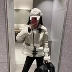 BBベルトフェイクムートンジャケット ジャケット 韓国ファッション