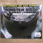 MONSTER VISOR モンスターバイザー / BLACK ブラック