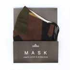 CHAORAS|抗菌防臭マスク(オーガニックコットン、スウェーデンカモ)
