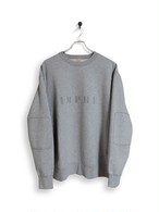 Original Sweatshirt / stencil / gray