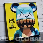 【カウズ KEEP CALM】Mサイズ26cm [PAPA_KA0006] KAWS : KEEP CLAM