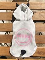 """HAPPY DEVIL HOODIE 20""""/グレー 3号"""