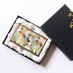 天然貝 名刺カードケース(モロッカン・ナチュラル)シェル・螺鈿アート