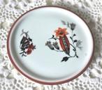 「智子様専用」  ARABIA アラビア 赤い花の小皿 フィンランド