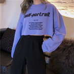 【tops】ファッションアルファベットゆったりTシャツ21992002