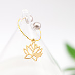 Lotus ear cuff / 2colors