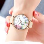 Kimio AF-Z1003 Lupus(Beige) 腕時計 レディース