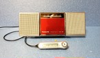 MDポータブルプレーヤー Panasonic SJ-MJ55-R MDLP対応 完動品・動作保証付き