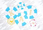 手作り用【ダウンロード版】ガーランド(A~Z)_8月_ukiwa