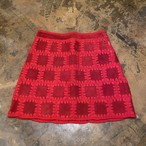 70s Patchwork mini skirt