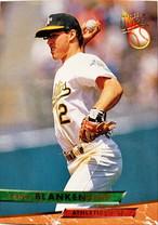 MLBカード 93FLEER Lance Blankenship #253 ATHLETICS