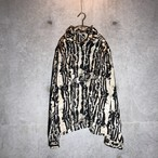 [used] artistic modan long shirt