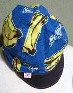 サイクルキャップ でかバナナ 青
