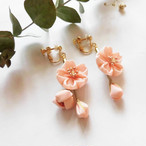 ※期間限定4/14まで【*Hanairo】桜のピアスorイヤリング