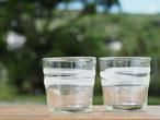 琉球ガラス ガラス工房てとてと 松本栄 走川(はいかー)ロックグラス
