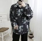 メンズ シャツ タイダイ 柄 韓国 長袖 肩落ち 人気 送料無料