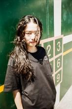 酒飲倶楽部 刺繍 Pocket T-Shirts Black