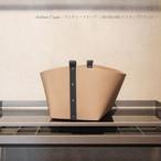 Pinetti Small Basket Ovo / Antibes(ピネッティスモールバスケットオボ/アンティーブ)180-082B/ストラップブラック