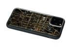 FLASH 京都回路地図 iPhone 11 Pro ケース  黒【東京回路線図A5クリアファイルをプレゼント】