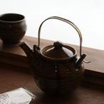 原泰弘 黒釉土瓶