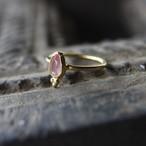 Jaipur gem リング -rose quartz- #9