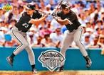 MLBカード 93UPPERDECK Robin Ventura & Frank Thomas #51 WHITE SOX TEAMMATE