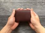 [mini coin wallet-02] コンパクト二つ折り財布(小銭入れ付き)