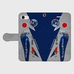航空自衛隊 第302飛行隊 F-4EJ改 運用40周年記念塗装機 手帳型スマホケース