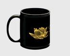 QUEEN BLACK CUP マグカップ 黒色
