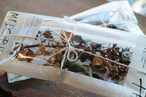 Xmas dried & preserved flower pac 【SMOKE PINK】